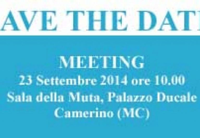 SAVE THE DATE - Meeting