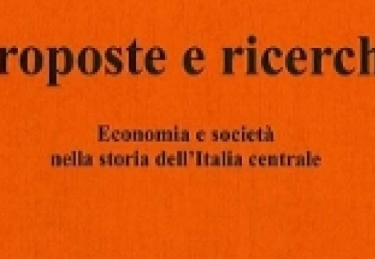 "The ""Proposte e Ricerche""( Proposals & Research) magazine reports on the European Institute of the History of Paper and Paper Sciences."