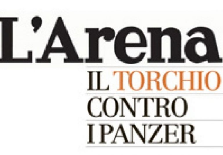 """Il torchio contro i Panzer"" -  The review of  'L'ARENA' in Verona"