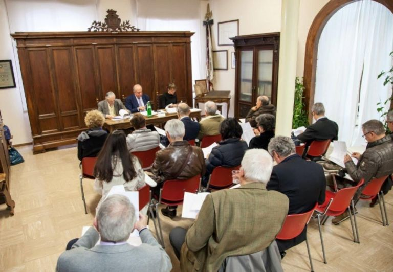 Shareholders' meeting ISTOCARTA 2015 in the Historical Archive of MIliani Fabriano Paper MIlls