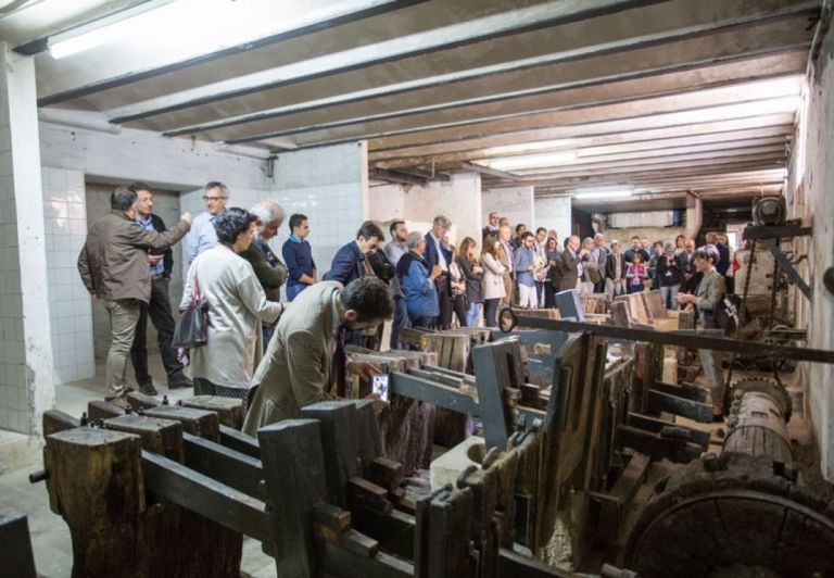 Visiting to the warehouse of Historical Paper Heritage, FABRIANO Paper Mills