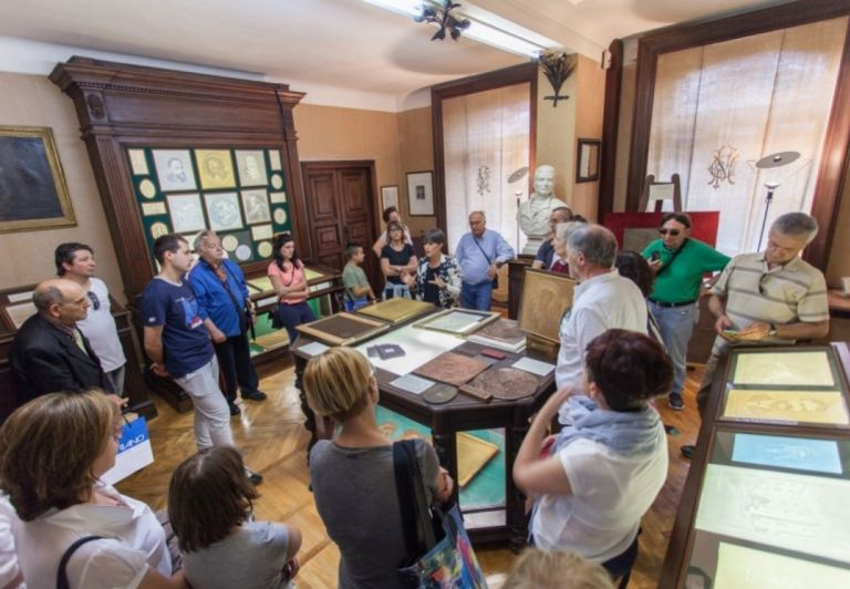 3° Step - Visit to the Historical Archive of Miliani Fabriano Paper Mills, headquerters of Fondazione G. Fedrigoni ISTOCARTA