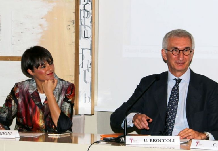 The 1st session of the Conference - Livia Faggioni and Umberto Broccoli
