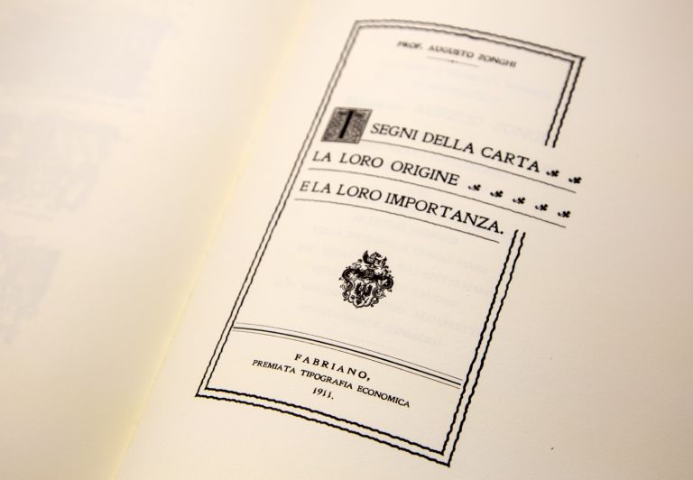 Augusto Zonghi's publication