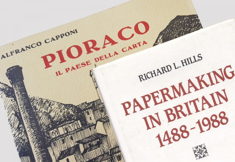 Richard Hills e Alfranco Capponi. A life dedicated to paper