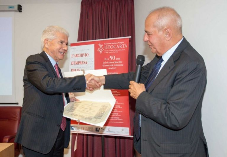 Delivery of HONORARY Member certificate to Dr. Claudio Alfonsi