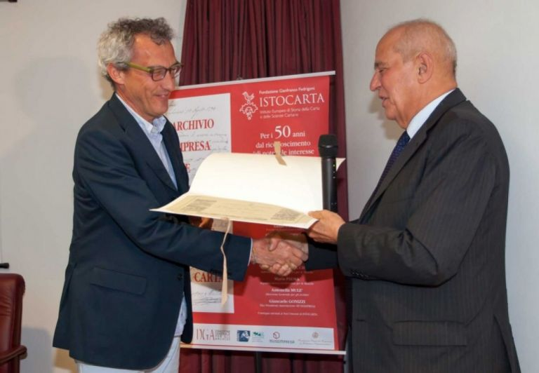 Delivery of HONORARY Member certificate to Prof. Augusto Ciuffetti