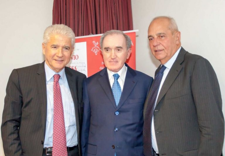 From left: Claudio Alfonsi, Guido Papiri e Alessandro Fedrigoni
